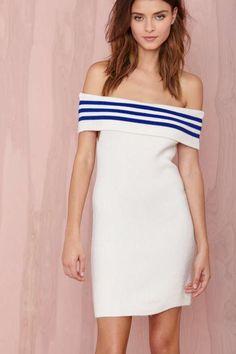Earn Your Stripes Dress - Dresses