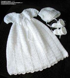 Amazon.com: Christening Gown Crochet Pattern 7 USA eBook: ShiFio's