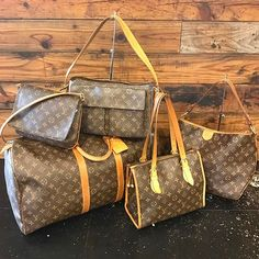New LV just added to our website! Shop them NOW for less than retail! www.mymoshposh.com/Louis-Vuitton!
