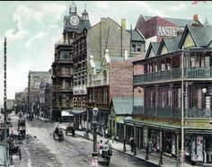 A collection of old postcards of Johannesburg, South Africa. Johannesburg City, Historical Pictures, African History, Live, Vintage Postcards, Old Photos, South Africa, Around The Worlds