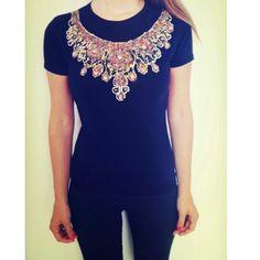 Necklace, collana, tshirt, collezione gioiello, jewelcollection, eles, elesitalia