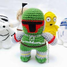 Style 2 Mini Figure NEW UK Seller Fits Lego Starwars Star Wars Boba Fett Green