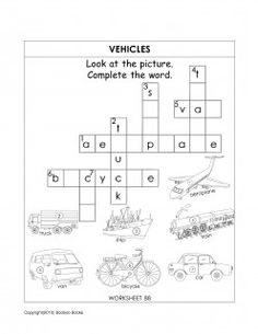 A sample general knowledge worksheet for kids