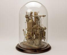 Artist Daniel Agdad Creates Incredible Miniature Worlds Entirely from Cardboard!