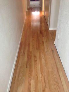 Goodbye carpet and hello hardwood floors.