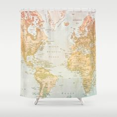 Buy Shower Curtains featuring Pastel World by Sandy Broenimann. Made from 100% easy care polyester our designer shower curtains are printed in the USA and feature a 12 button-hole top for simple hanging.