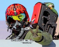 """United States Air Force Pilot - Gregory """"Wired"""" Colyer"""