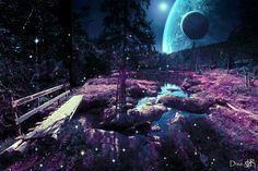 Alien Worlds, Collage Artists, Surreal Art, Digital Collage, Art Day, Nature, Artwork, Instagram, Naturaleza