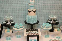 Tudo Simples e Decorado: Festa Bonequinha de Luxo - Azul Tiffany