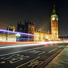 Big Ben London Street City View #iPad #Air #wallpaper