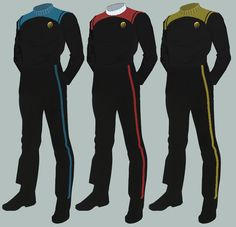 Click this image to show the full-size version. Marching Band Uniforms, Star Trek Uniforms, Rear Admiral, Lower Deck, Starship Enterprise, The Final Frontier, Look Older, Collar Shirts, Outfits