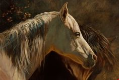 Tanque Verde Fable by Julie Bell. Original fine art equine oil painting by award winning artist Julie Bell. Prints available. Fantasy Paintings, Fantasy Art, Julie Bell, Bell Art, Animal Categories, Equine Art, Old Master, Wildlife Art, Horse Art