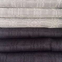 Are you ready? Little Zen one is proud to present you with Vanamo woven wraps. Made in a small mill in Finland, the Kide weave is inspired by traditional Finnish handwovens. Here are the cotton linen blends.