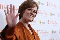 Sigourney Weaver received the Life Award in 2008 at Cracked Xmas 11 in Los Angeles.