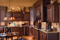 Haas Cabinets; American Series by Design Cabinetry Inc.