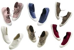 Bensimon Shoes   dress like a french woman. I have them in pink, purple, and navy.