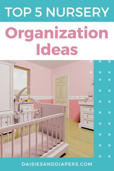 Here's the best tips and ideas that will help you learn how to organize a nursery. From closets to drawers to diaper changing, this post will walk you through it all! Baby On The Way, Mom And Baby, Baby Hacks, Mom Hacks, Taking Care Of Baby, Nursing Supplies, Diaper Pail, Nursery Organization, Sleep Sacks