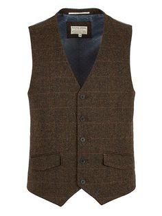 Clifton check waistcoat