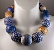 More big beads in blue <3