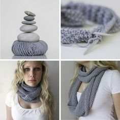 Seed Stitch Scarf - a quick n'easy that would be great for fall.... Or spring (depending on colour and outfit)