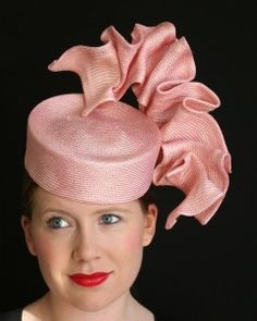 #OaksDay – #Spring Racing #Fashion. Hat designed by Christine Waring. Check out our blog for Spring Racing Fashion tips