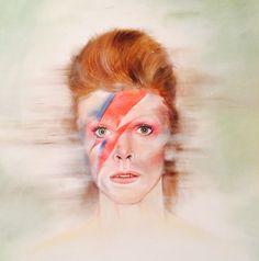 My latest artwork : David Bowie