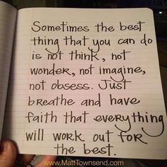 Sometimes the best thing you can do is.... One day at a time | life goals