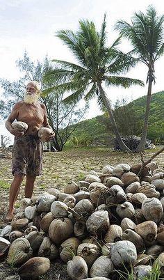 Ex-zakenman woont op onbewoond eiland