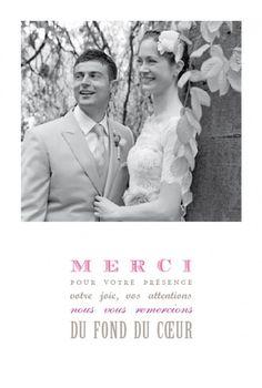 cartes de remerciement mariage mcj remerciement pinterest mariage printing and magnets - Carte De Remerciement Mariage Pas Cher