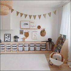 Ooh Noo Spielzeug Schubkarre - kids room Pin by Tina Schaadt on Kinderzimmer in 2020 Playroom Design, Kids Room Design, Playroom Decor, Baby Room Decor, Playroom Ideas, Ikea Kids Playroom, Toddler Playroom, Room Baby, Baby And Toddler Shared Room