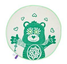 Imagen de BU!  Teddy frazada / Verde