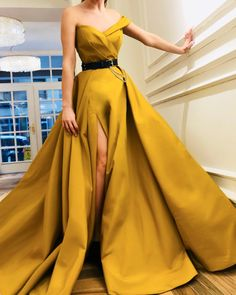 Simple Dune TMD Gown – Teuta Matoshi Duriqi™