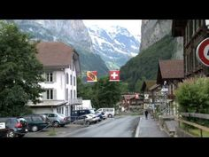 ▶ Lauterbrunnen, Switzerland - YouTube I went here 2months ago and its just as AMAZING as he describes (even better in real life :) )