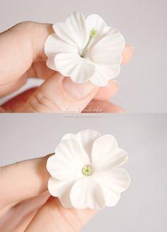 Очень нежные цветы примулы (лепка,МК). Обсуждение на LiveInternet - Российский Сервис Онлайн-Дневников