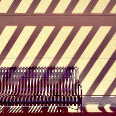 #stripes #shadows photo by happymundane on Instagram