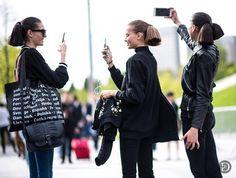 fashion Ra: newyork moda haftası sokak modası street style fas...