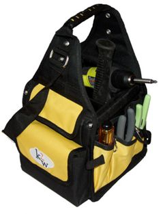The K2W toolbag.  This electrician's bag is handy for storing your most used tools so that they're ready at a moment's notice.