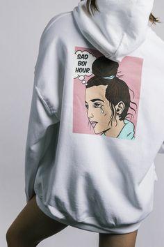 EmilyLe Womens BTS Round High Neck Sweatshirt Unisex Fans Support Pullover Hoodie