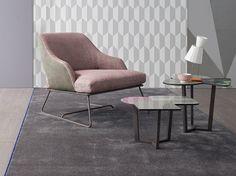 Letti, divani e sedute per atmosfere rilassanti e leggere