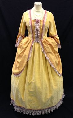 18th century yellow dresses - - Yahoo Image Search Results