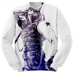 Custom Sweatshirt Winter Soldier