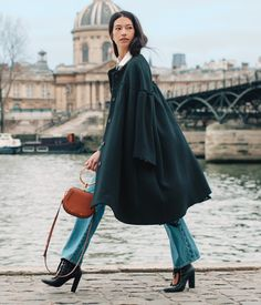 """""""I was so overwhelmed by the city's beauty and sense of history when I first arrived,"""" dancer Hannah O'Neill finishes off her romantic day in Paris #chloeGIRLS Pick out your Valentine's Day look on chloe.com"""