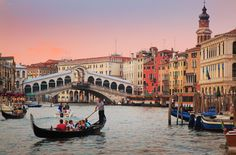 The Grand Canal, Italy      Venice is truly a one-of-a-kind city.