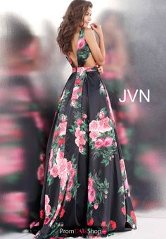 440ac73e5b0 Black Multi Jovani Dresses