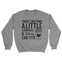 Starbucks and Disney Sweatshirt - https://shirtified.co.uk/product/starbucks-disney-sweatshirt/