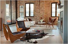 Interiér obývací pokoj MRSA Architects & plánovačů