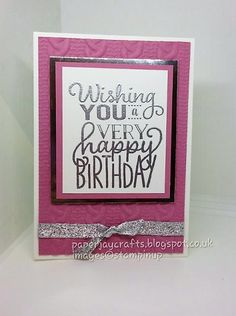 PaperJay Crafts: Big on Birthdays