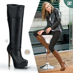 Luce aún más #elegante con estas #botas de la temporada.