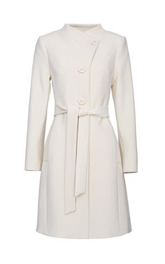 Пальто шерстяное (артикул:106830000) La Reine Blanche