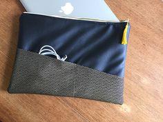 """Housse pour ordinateur portable type macbook pro retina 13"""" ou macbook air : Housses ordinateurs et tablettes par lafossette"""